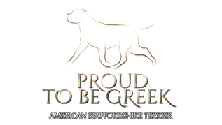 Proud to be Greek American Staffordshire Terrier Kennel